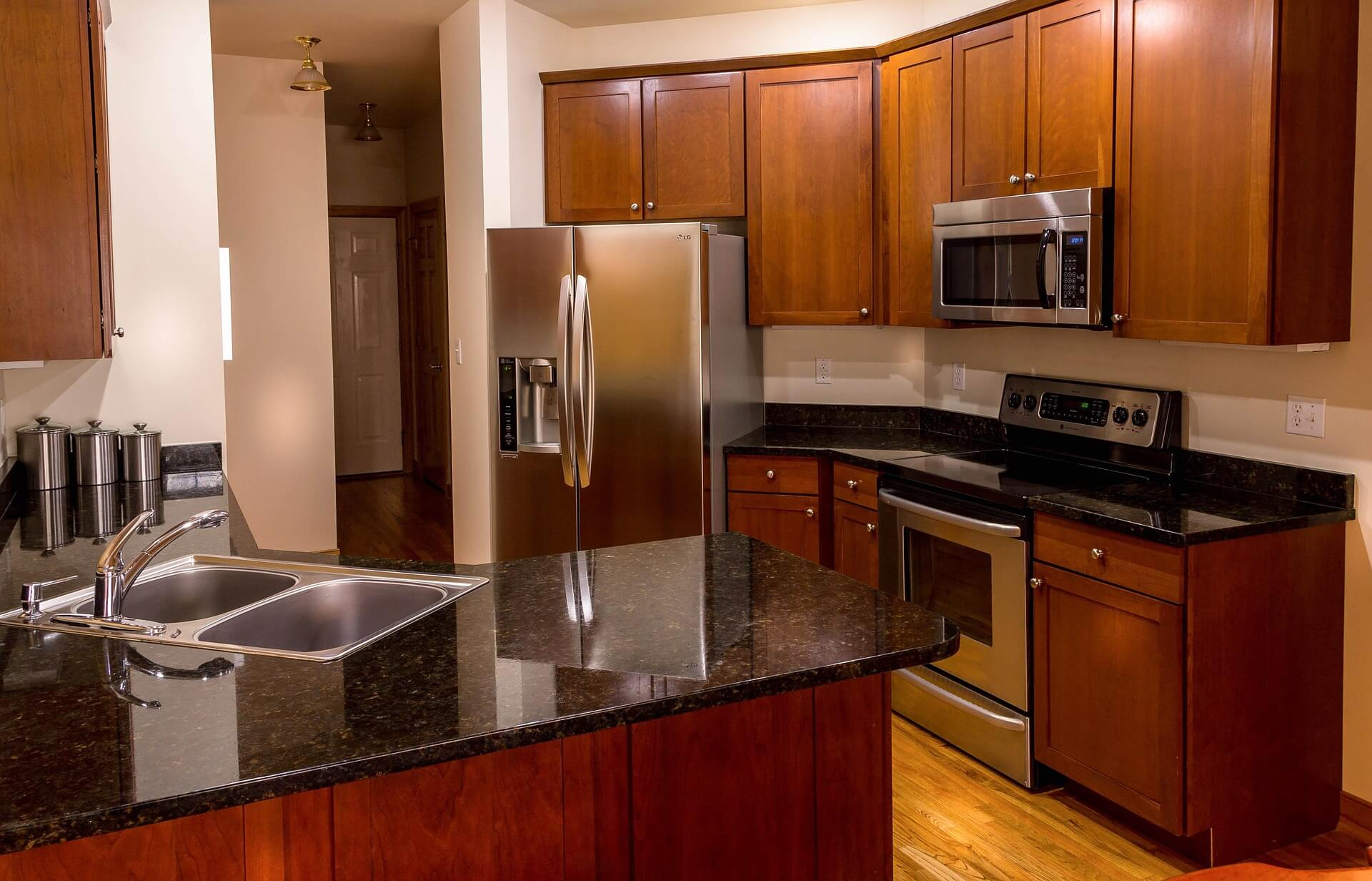Granite Countertops - SoFlo Kitchen Remodeling & Custom Cabinet Installation - backsplashes, flooring, countertops