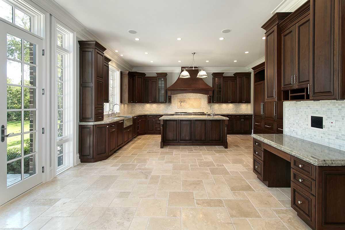 kitchen tile and stone - SoFlo Kitchen Remodeling & Custom Cabinet Installation - backsplashes, flooring, countertops