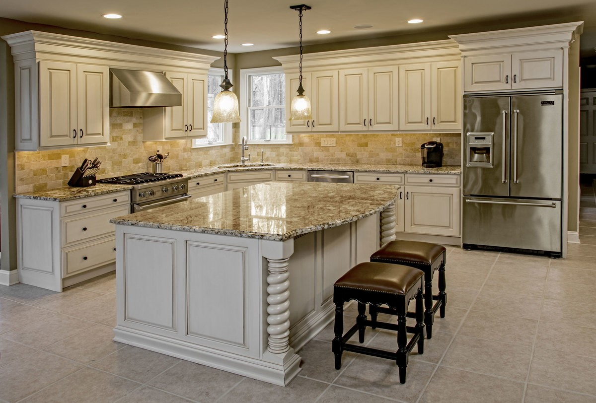 Cabinet Refacing - SoFlo Kitchen Remodeling & Custom Cabinet Installation - backsplashes, flooring, countertops