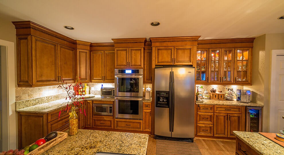 custom woodwork-SoFlo Kitchen Remodeling & Custom Cabinets - backsplashes, flooring, countertops