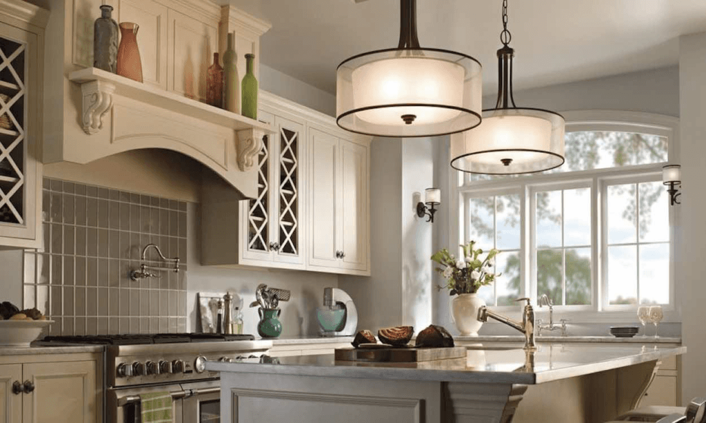 Kitchen Lighting - SoFlo Kitchen Remodeling & Custom Cabinet Installation - backsplashes, flooring, countertops
